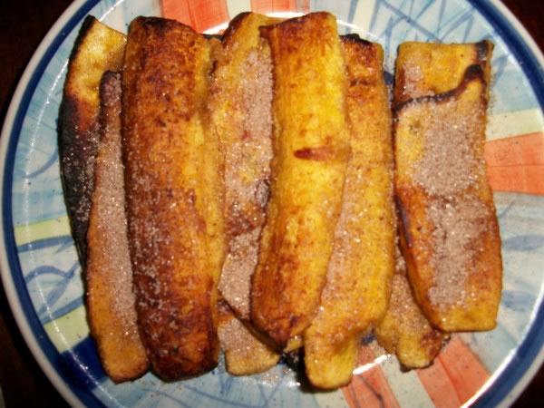 Receita pronta de Frigideira de Banana